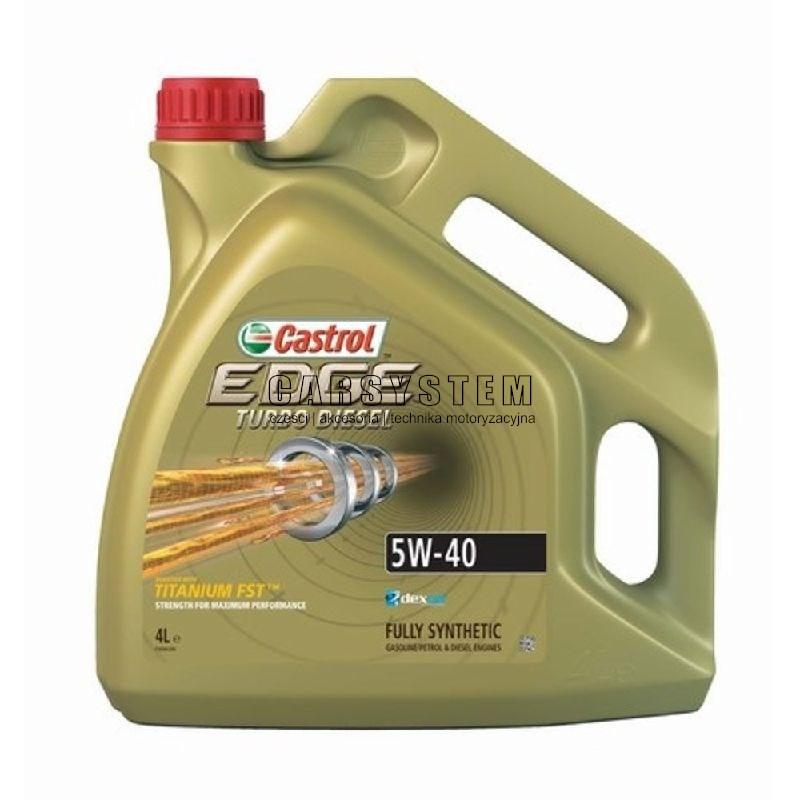 OLEJ SIL.5W/40 CASTROL EDGE 4L TDI